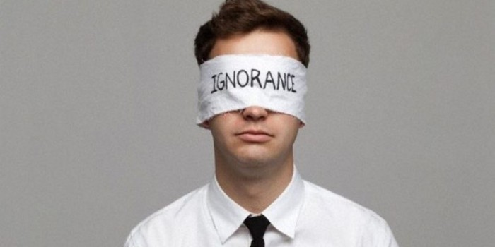 Onde nasce a nossaignorância?
