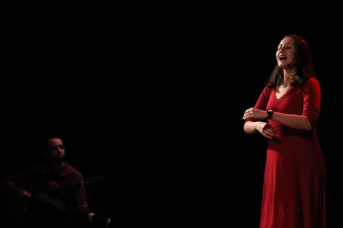 Contadora de histórias Giuseppina Burigo  representa o Brasil em evento naColômbia