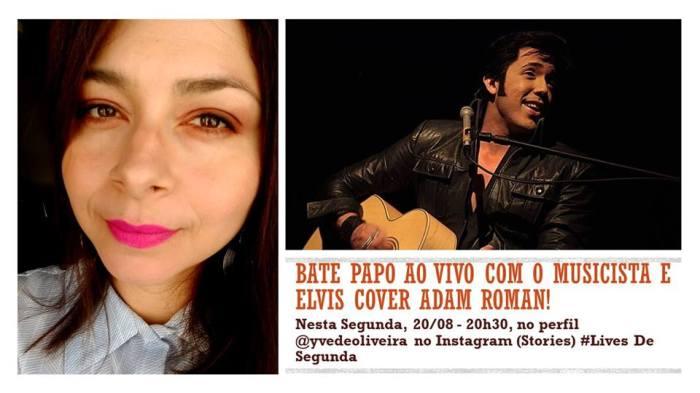 Entrevista com o musicista e Elvis Cover Adam Roman – Lives deSegunda