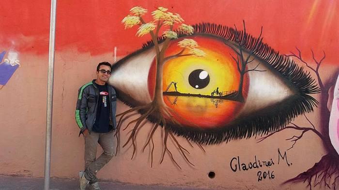 Artista do grafite guarulhense Claudinei Guimarães revela sua trajetória e a paixão pelas artesvisuais